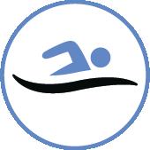 Distance nageurs bateau