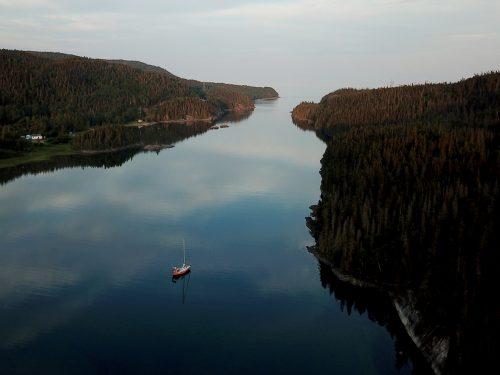 L'estuaire du Saint-Laurent, un plan d'eau à apprivoiser une marée à la fois.