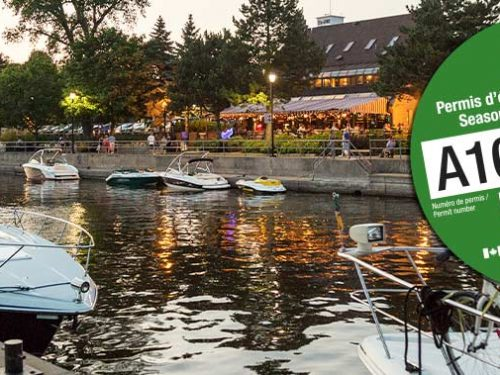 Promotion présaison sur les permis d'éclusage et d'amarrage dans les canaux historiques de Parcs Canada!