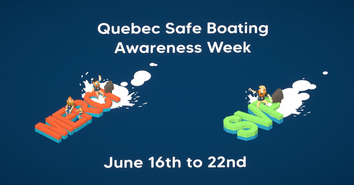 Quebec Safe Boating Awareness Week