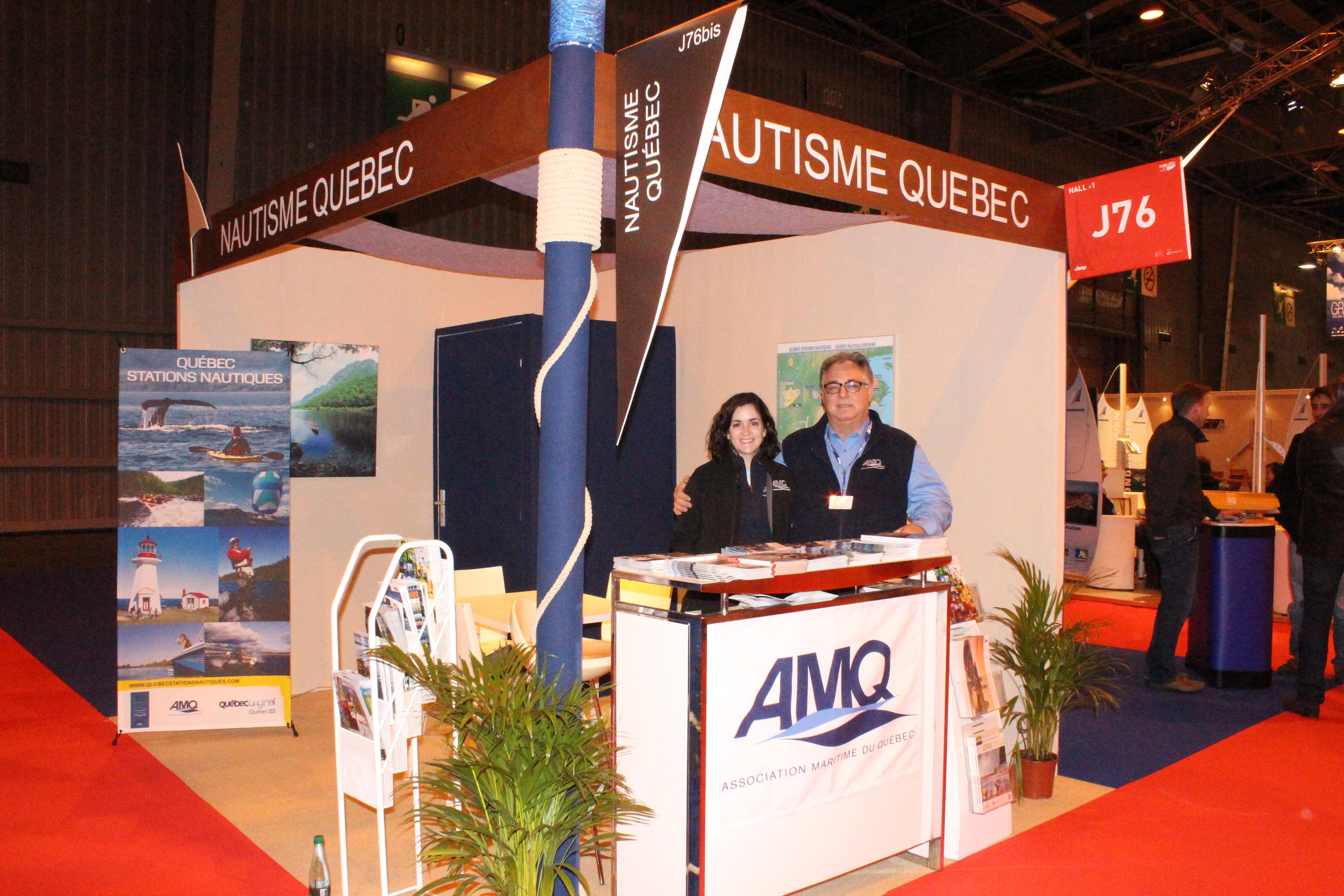 Amq association maritime du qu bec actualit s cap - Salon nautique international de paris ...